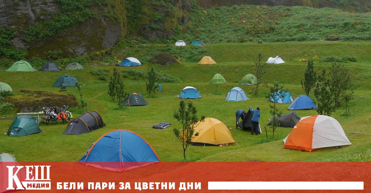 Създават се правила за разполагане на палатки, кемпери или каравани извън къмпингите