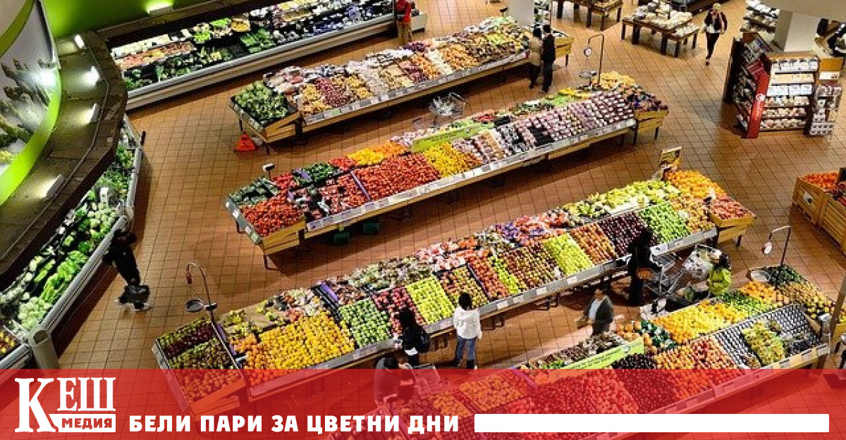 Цените на храните растат с максимални за последните 10 години темпове