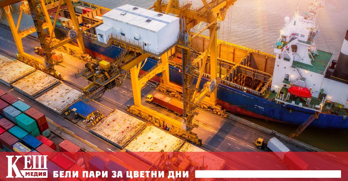 Износът на стоки през април нараства чувствително с 49,6% (950,5