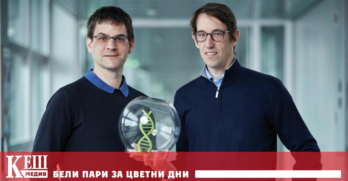 Изобретение за кодиране в ДНК спечели наградата на Европейското патентно ведомство