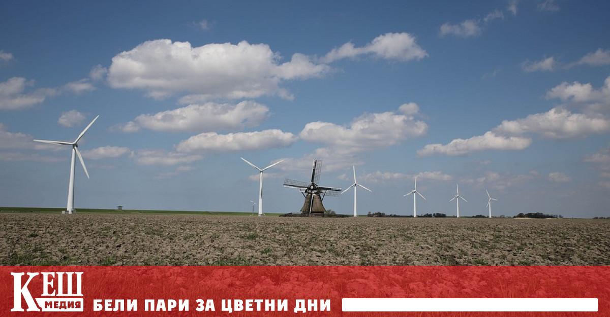 Много от перките на вятърните турбини вече са минали експлоатационния