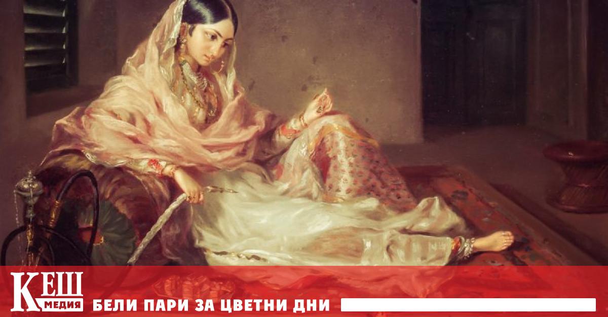 Скъпоценната тъкан от фин памук в края на XVIII покорява
