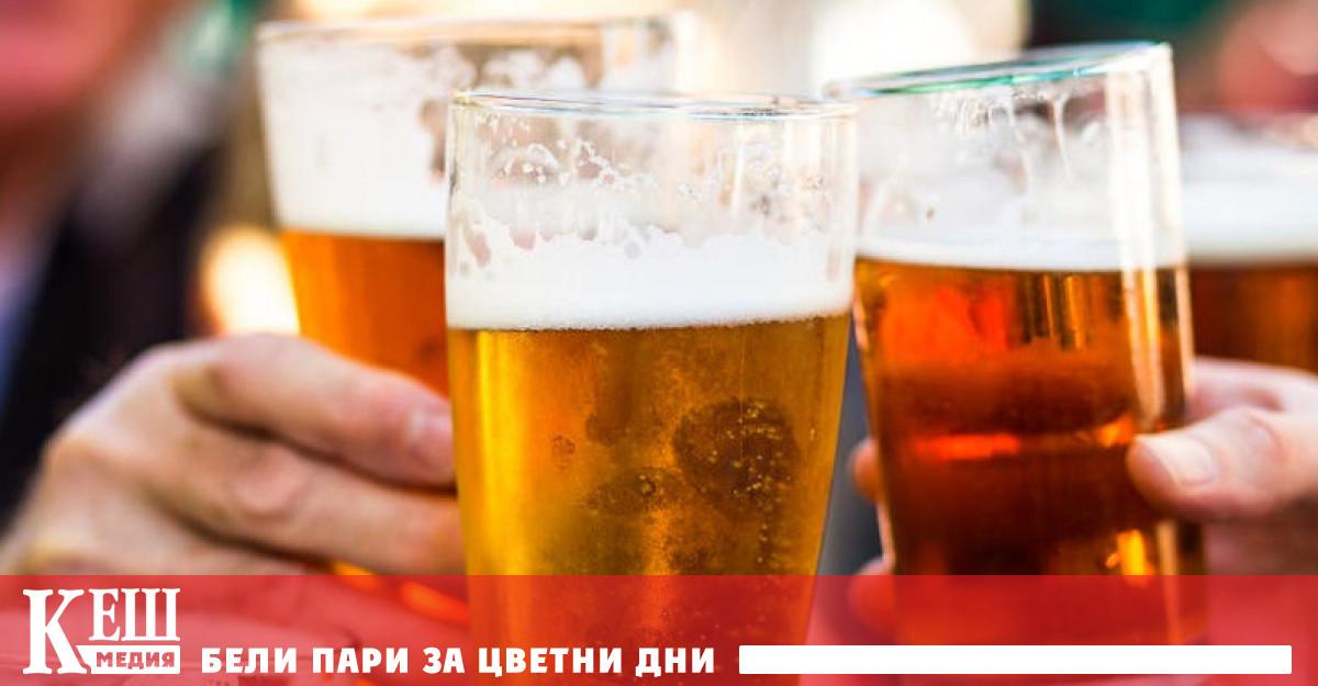През летните месеци всеки ден пълнолетният българин изпива по една