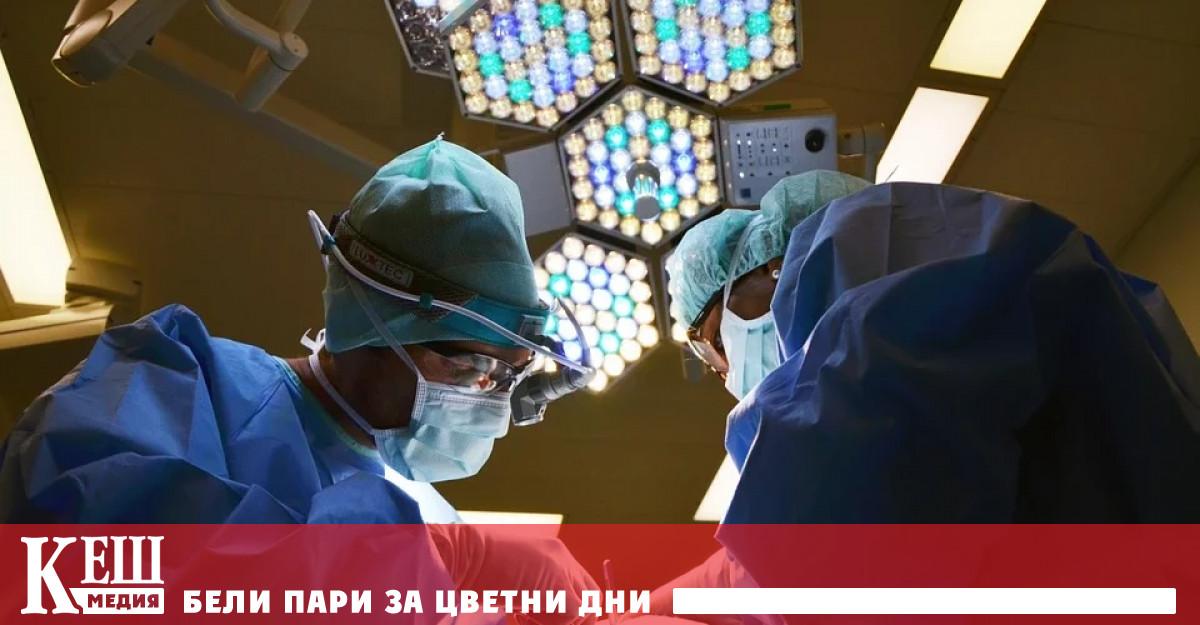 Реципиентът е пациент в мозъчна смърт, чиито жизнени функции се