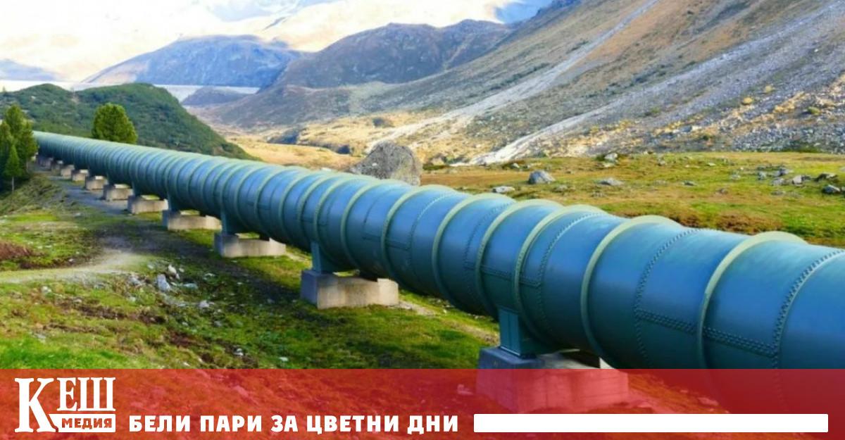 Цената на ноемврийските газови фючърси в Европа при откриването на
